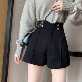 【反季清仓】高腰短裤韩版阔腿裤宽松女