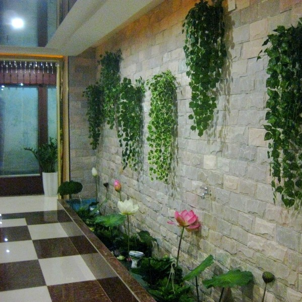 Usd 5 61 Simulation Plant Wall Decoration Green Plants Fake Flowers