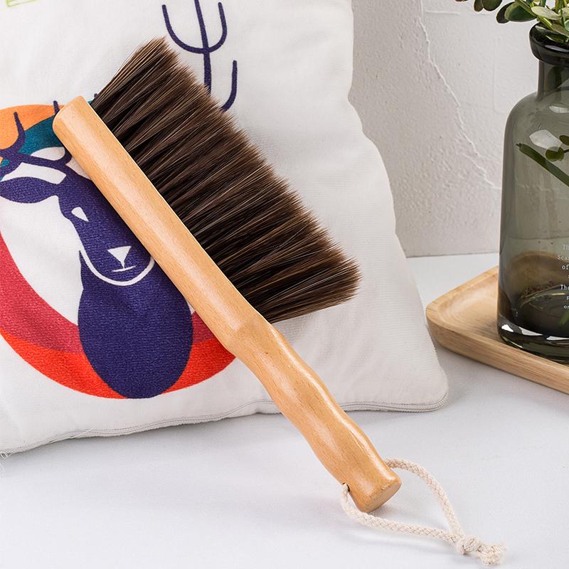 家用软毛扫床刷子鬃毛笤帚