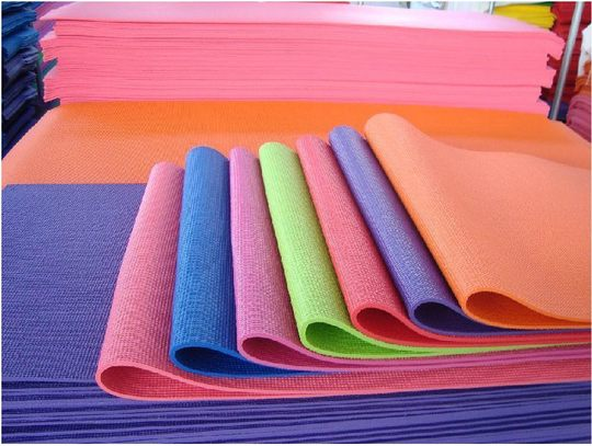 PVC 4/6/8MM yoga mat NBR10/15MM widened and thickened fitness exercise mat lengthened, tasteless and non-slip