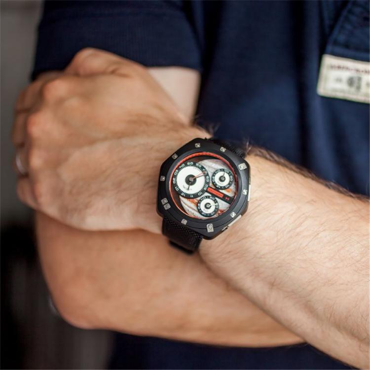 海外代购Hamilton汉密尔顿ODC X-03环绕木星限量款自动机械男手表
