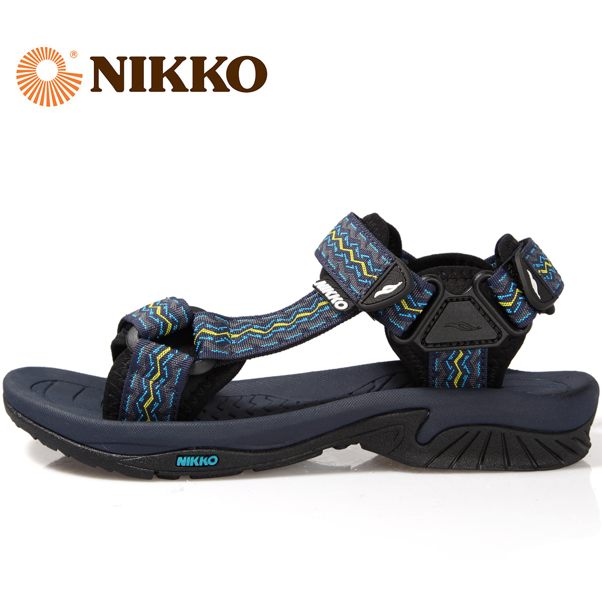 Nikko sandals day high outdoor sandals male beach shoes couple outdoor  beach sandals men and women 5f4a2ce6b2
