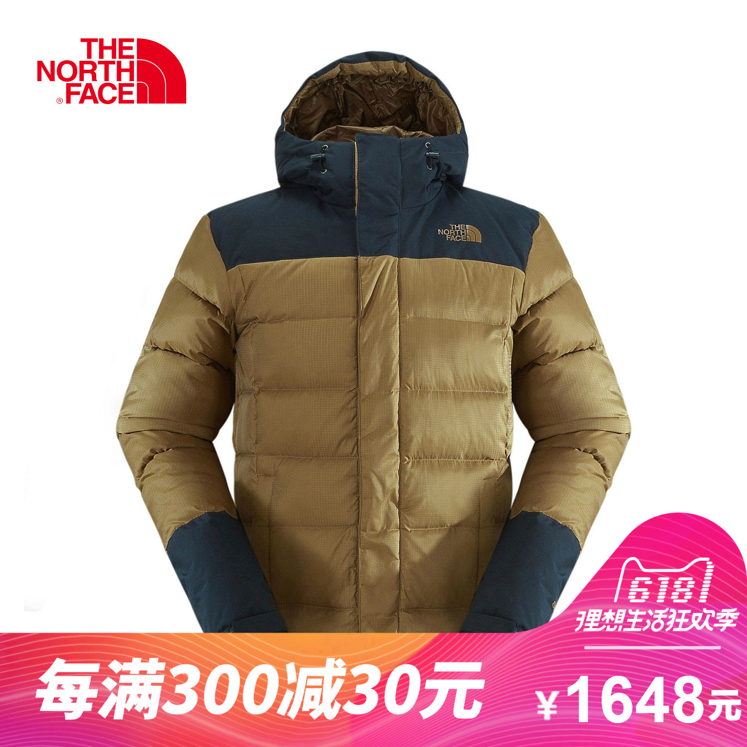 THE NORTH FACE Northern Men s Outdoor 800 Peng warm and windproof  breathable hooded down jacket ffa026d49