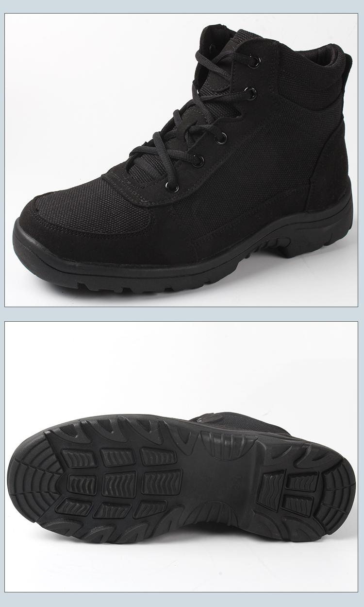 加厚保暖新式棉鞋冬季轻便防寒靴男士羊毛靴加绒防寒鞋棉靴雪地靴详细照片