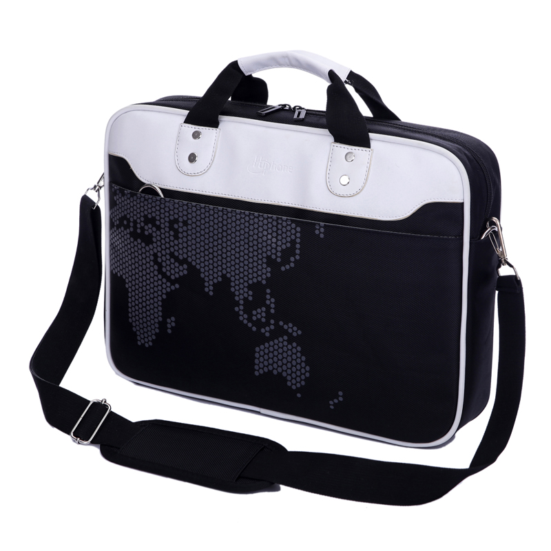 DSMR laptop bag 13 14 15 inch notebook bag men and women shoulder 15.6 inch laptop bag