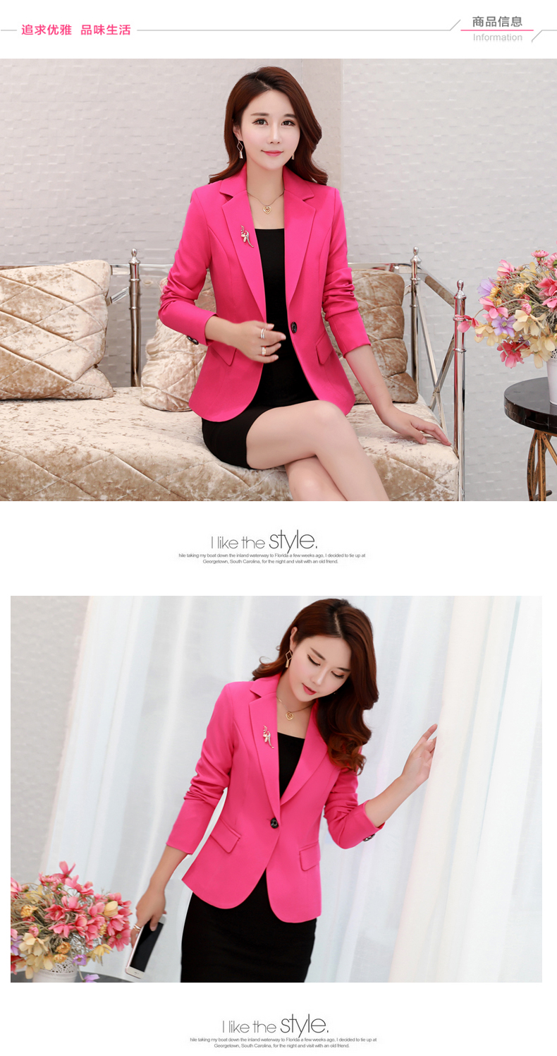 Nhỏ phù hợp với nữ áo khoác 2018 mùa thu mới Hàn Quốc phiên bản của tự trồng giản dị nhỏ phù hợp với đoạn ngắn kích thước lớn của phụ nữ áo sơ mi triều