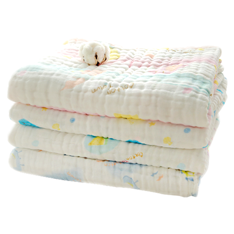 棉花堂 新生婴儿浴巾