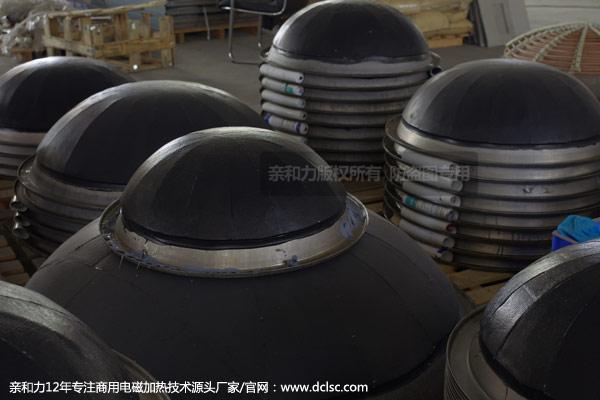 亲和力电磁大锅灶大锅加装隔热材料批量图