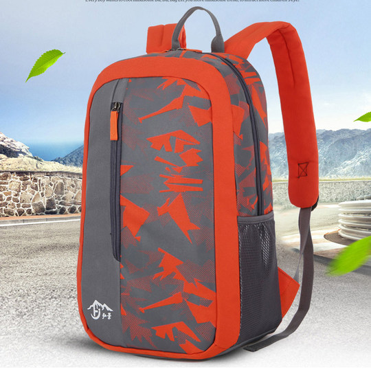 2018 new men and women shoulder bag ultra-light travel travel backpack casual Korean high school student bag tide