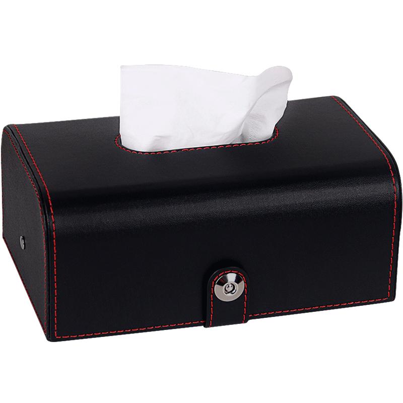 创意车用纸巾盒车载抽纸盒