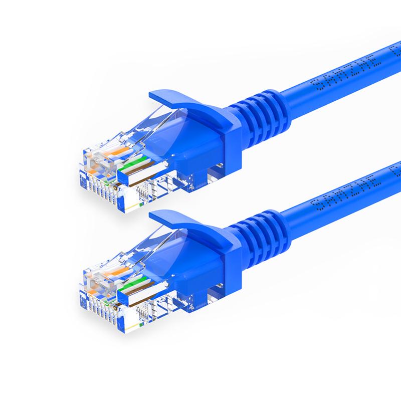 山泽(SAMZHE)六类网线 CAT6千兆高速八芯双绞 电脑网络跳线,免费领取2元淘宝优惠卷
