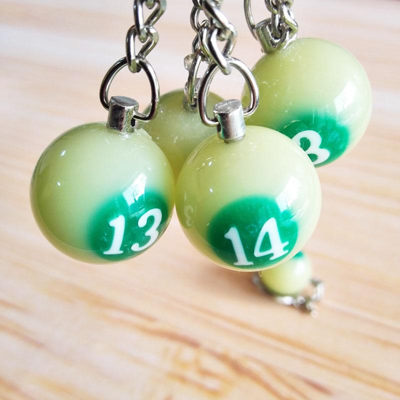 Бильразмер малый кольцо для ключей творческий подарок прозрачный брелок стол таблицы кулон аксессуары бильразмер зал маленькие подарки