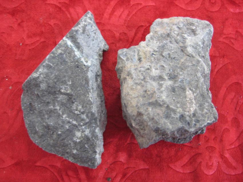 金伯利岩 矿物标本 金刚石钻石原石 矿石 赏石 奇石 摆件 收藏