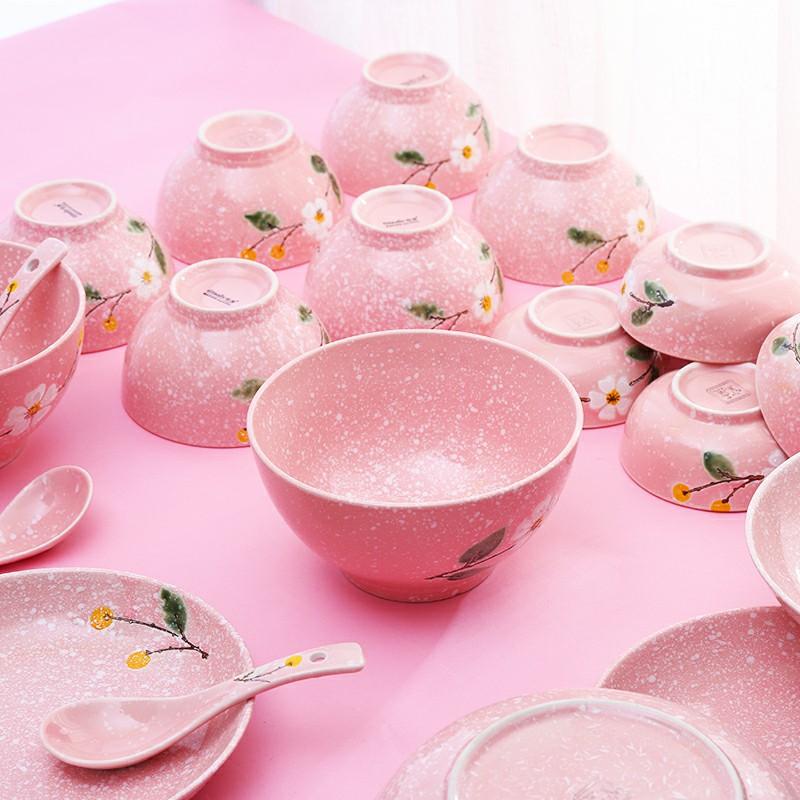 16头56头创意雪花瓷礼盒陶瓷组合装碗盘家用碗碟日式套装日式创意
