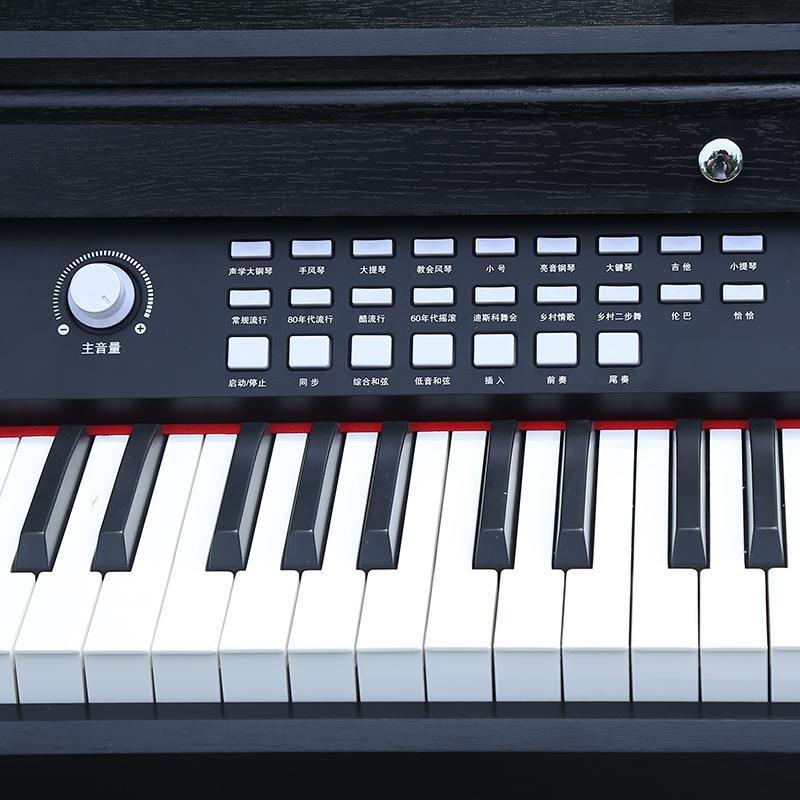 诺艾智能电钢琴88键重锤成人初学家用学生专业考级自学电子琴教学