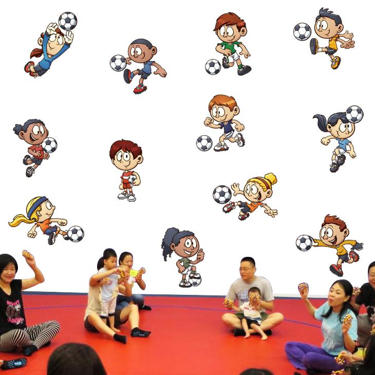 热气球飞机幼儿园小学生教室布置墙贴卡通儿童房卧室背景装饰贴纸