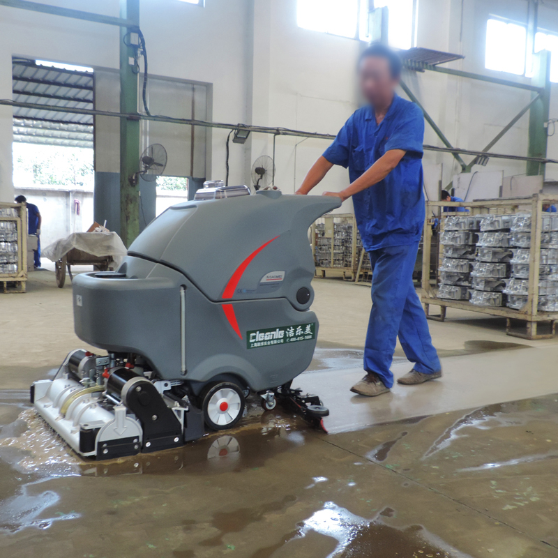 [USD 8548.57] Factory Workshop Floor Cleaning Machine