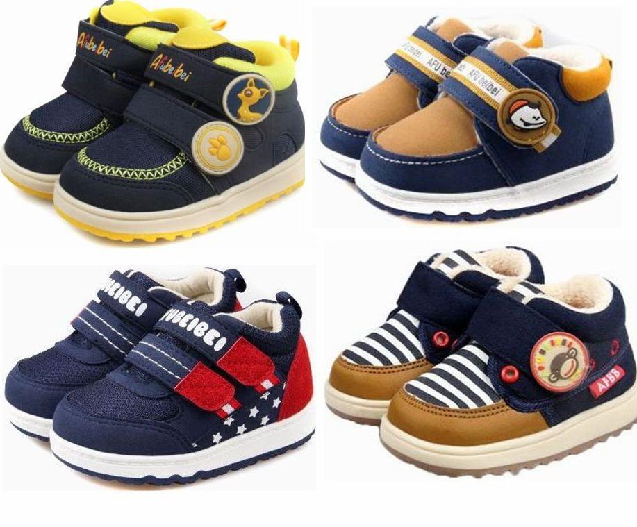 阿福贝贝棉鞋2019冬款男童宝宝棉鞋婴儿学步棉鞋雪地靴保暖鞋F505