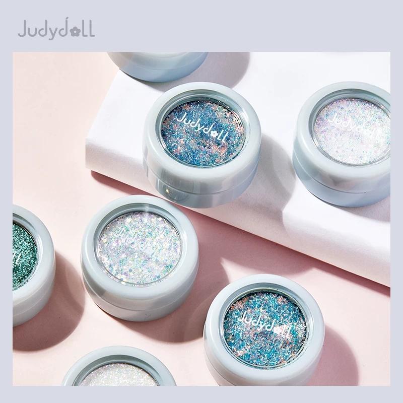 Judydoll hoa cam màu mới Ambilight plasticine phấn mắt đơn sắc mềm mại và tinh tế - Bóng mắt