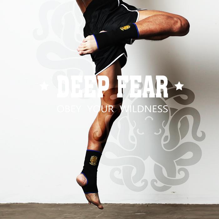 [DF泰拳护踝搏击散打MMA护具拳击护脚背格斗护脚踝护脚套DEEP FEAR]