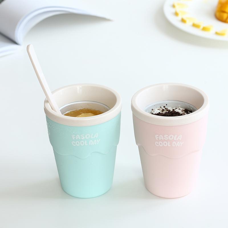 冰沙杯DIY自制果汁碎冰杯家用杯冰激凌模具无需插电奶昔冰淇淋杯