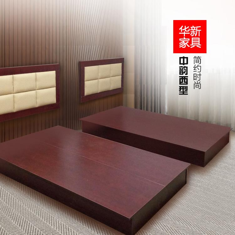 Шанхай отели гость дом мебель кровать стандартный номер комплект мягкий чехол кровать 1.2 метров школа комната с несколькими кроватями живая дом бригада дом кровать