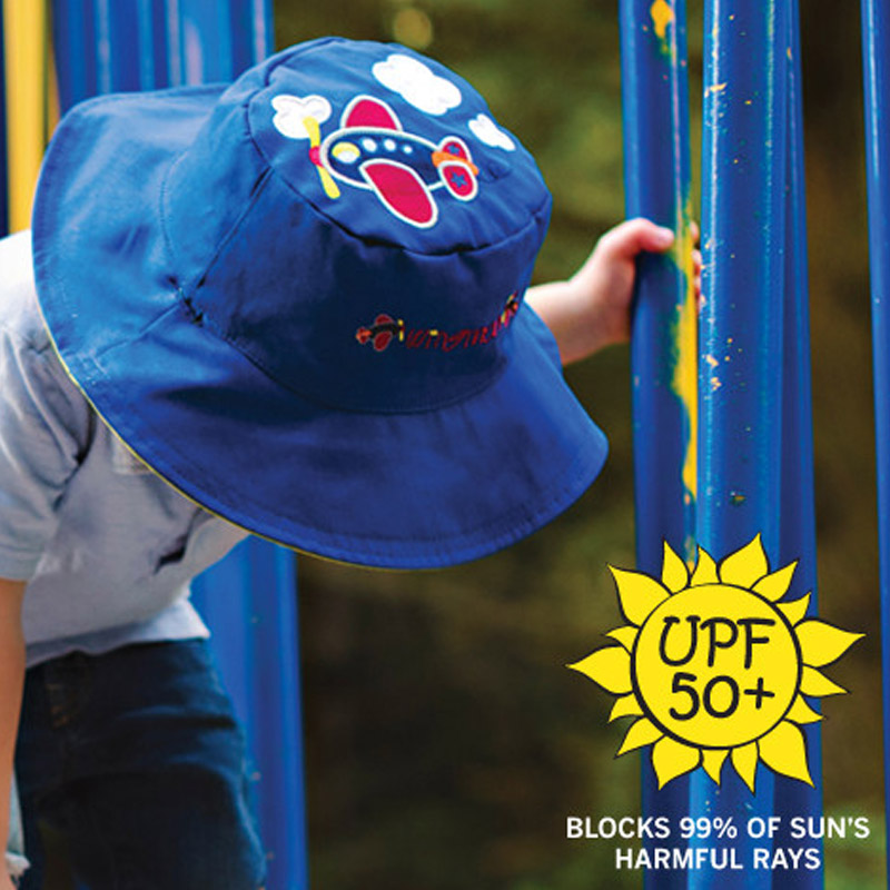 USD 33.71  flapjackkids baby double-sided sun hat spring baby sun ... 833aed0559d6