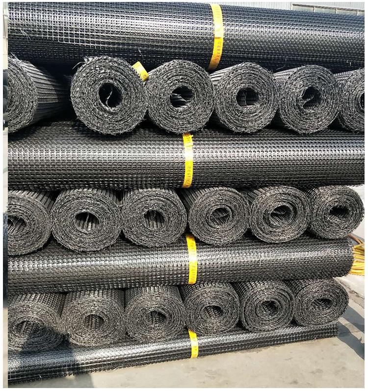 土工格栅塑胶网养殖网安全防护网养鸡鸭鹅围栏工地路基加固网详细照片