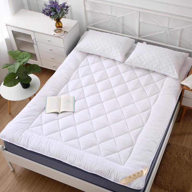 加厚软床垫床褥子双人米全棉棉花学生宿舍单人垫被详细照片