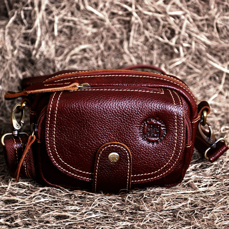 23b468d618 Hide the skin off the female package autumn section 2018 tide small square bag  messenger bag female bag diagonal mini male bag small pockets leather