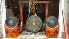 Медный барабан Сад украшения бронзовые барабаны