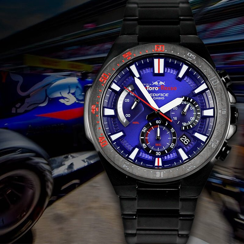 9471427d849f Limited Edition Casio EDIFICE Red Bull Infiniti F1 Racing Team Watch Male  EFR-554TR-2A