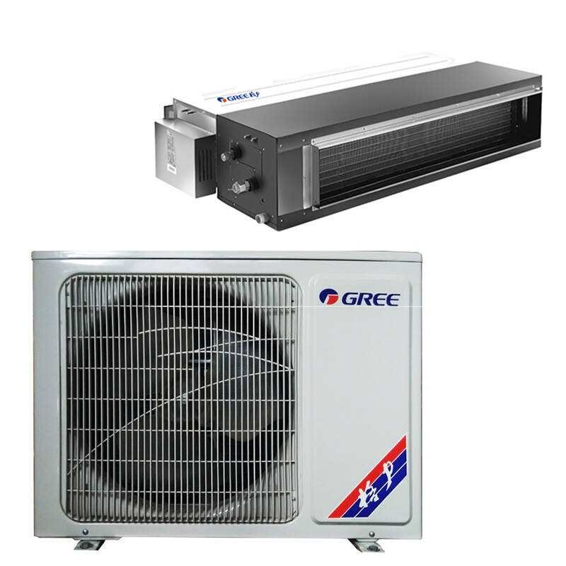 Gree GREE C1 series DC inverter fan 1.5 one drag a cold and warm variable frequency home central air conditioning