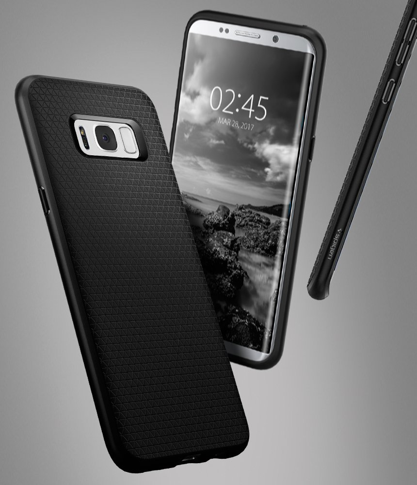 Usd 2076 Spigen Samsung S8plus Protective Shell Carbon Fiber Crystal Case For Galaxy S8 Plus Clear Color Classification Large Screen Black Cross Transparent Small