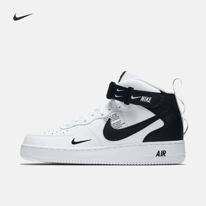 Nike 耐克官方 NIKE AIR FORCE 1 07 MID LV8 男子运动鞋 804609