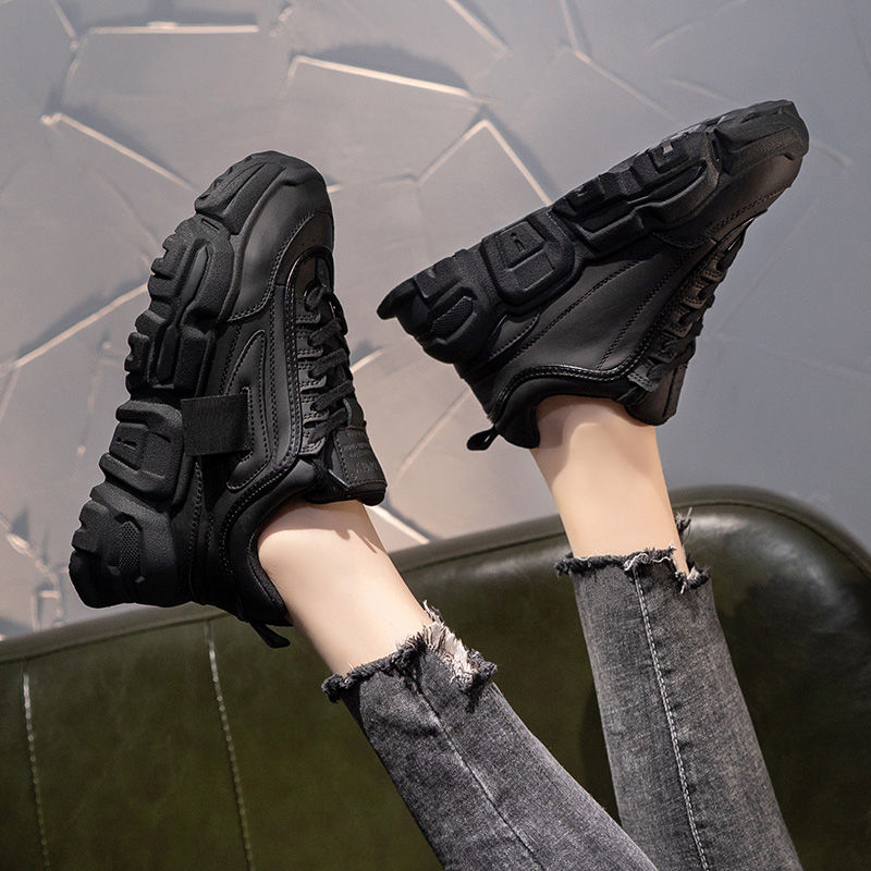 老爹鞋女2020新款潮鞋韩版百搭厚底运动休闲鞋ins网红小白鞋49