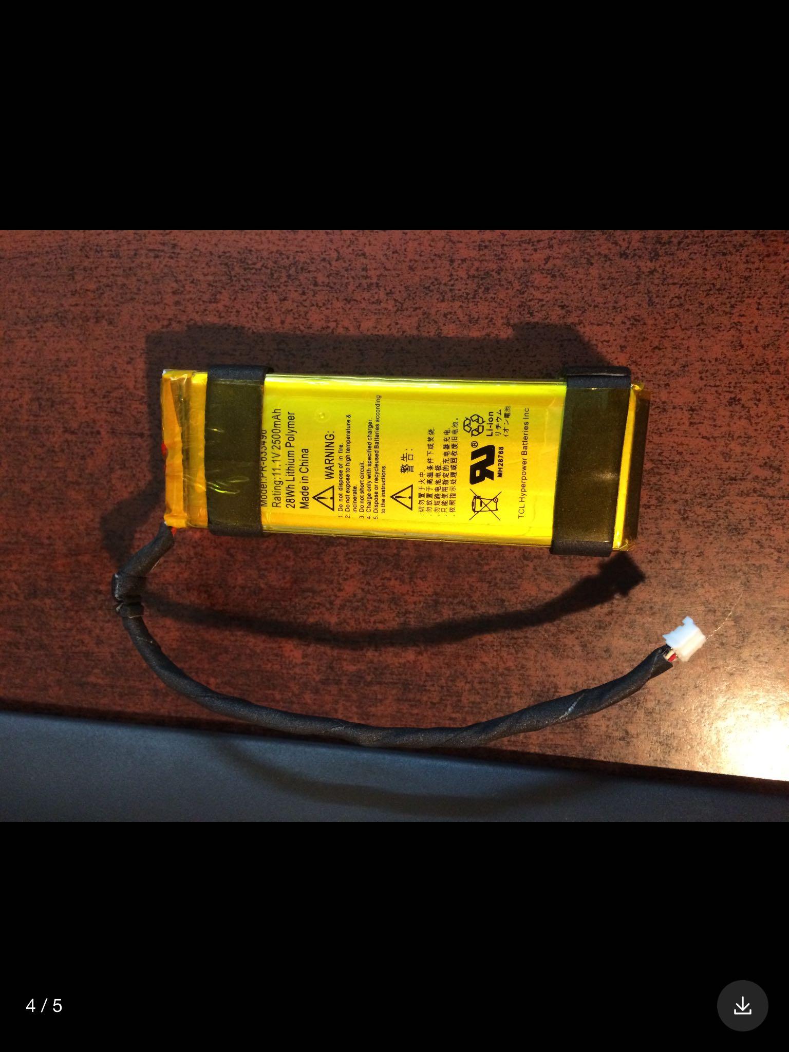 батарейка Sea dual PR-633496 11.1V