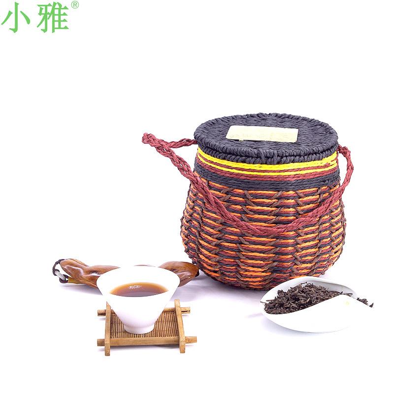 小雅2011年陈香甘爽七年陈500克六堡茶黑茶六堡茶厂