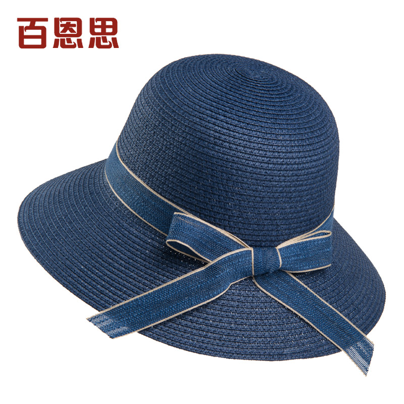 9cm hat, lace, bow, navy