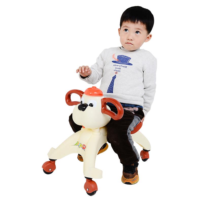 灿成儿童车扭扭车儿童溜溜车宝宝四轮学步滑行车玩具车带灯光音乐_天猫超市优惠券