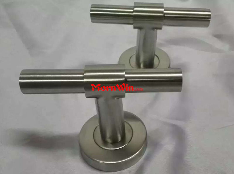 Powder Coating Black Finish T Door Handle
