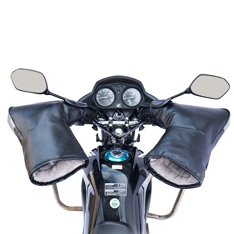 电动摩托车加厚保暖防水手套