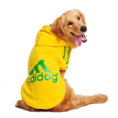 金毛大狗狗衣服秋冬装拉布拉多秋季边牧哈士奇中型大型犬宠物卫衣
