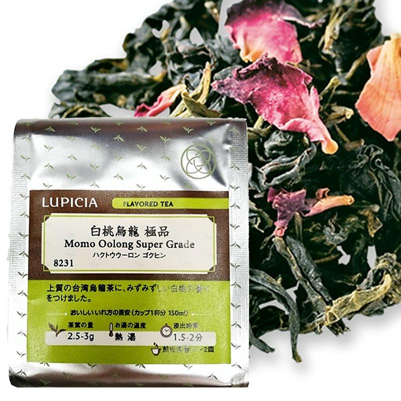 Товар в наличии Япония в оригинальной упаковке Зеленый чайный сад LUPICIA белый Peach oolong tea 50 г мешок вкупе до 19 февраля