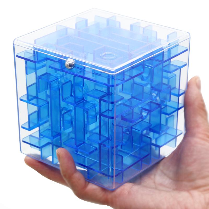 3d魔方立体迷宫正方体六面智力魔幻迷宫球走珠儿童益智玩具女男孩