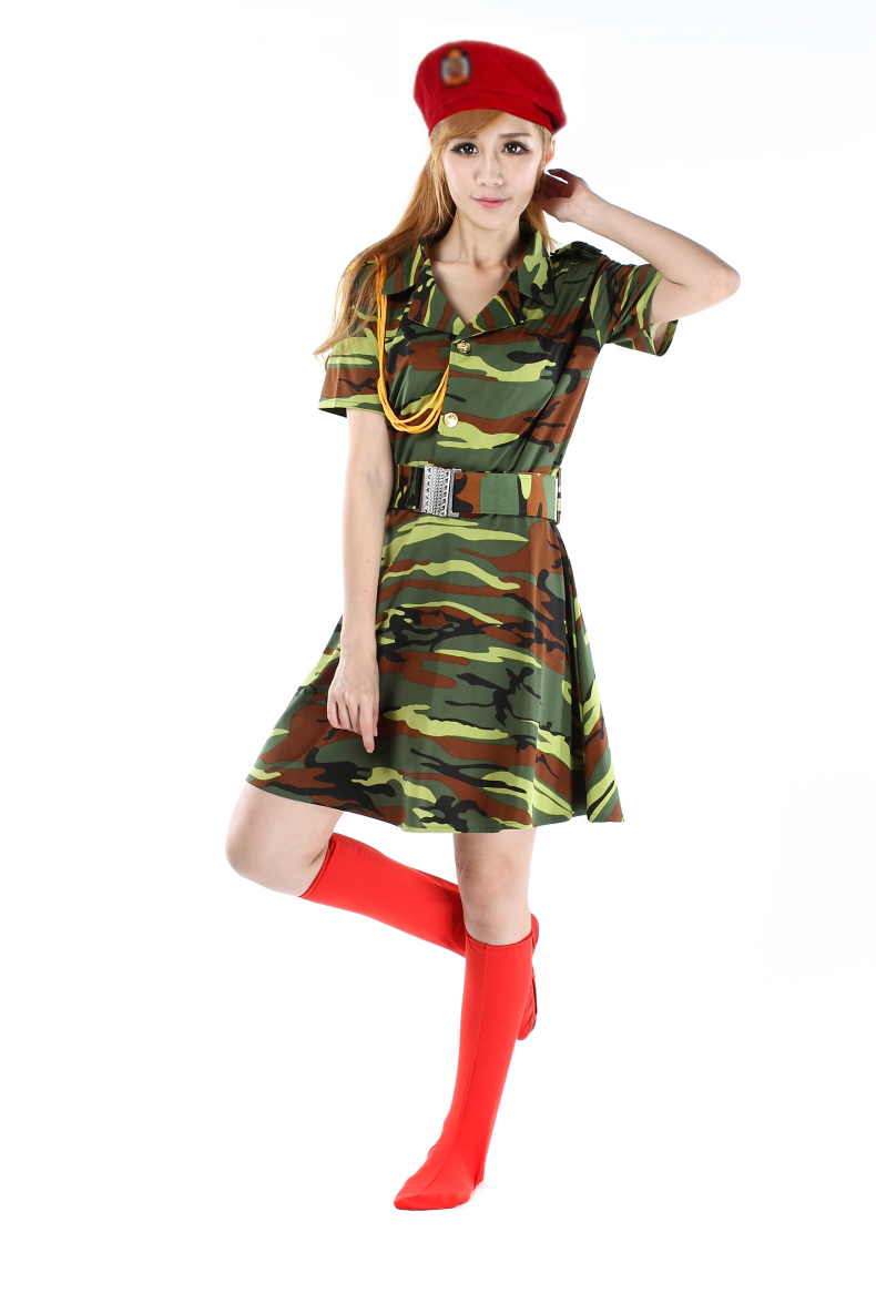 Military uniforms camouflage costumes female soldiers camouflage skirts square dance sailors dance costumes snare drum suits ...  sc 1 st  eBuy7.com & Military uniforms camouflage costumes female soldiers camouflage ...
