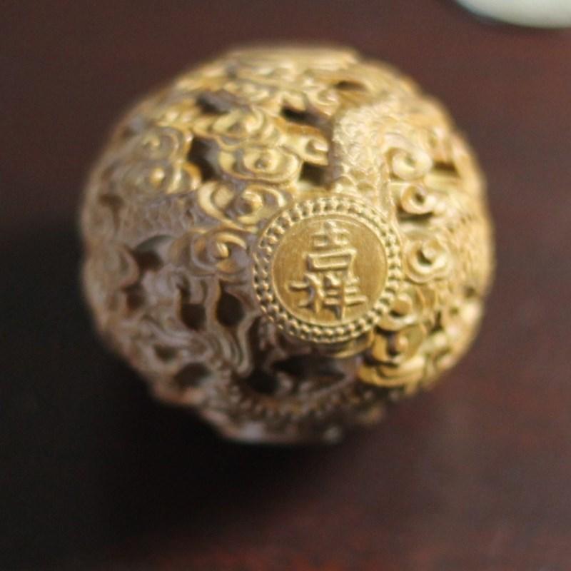 Сувенир Чисто Майсур сандала, небольшой Индии Cairn ручной работы орнаменты жемчужина мира Амулет