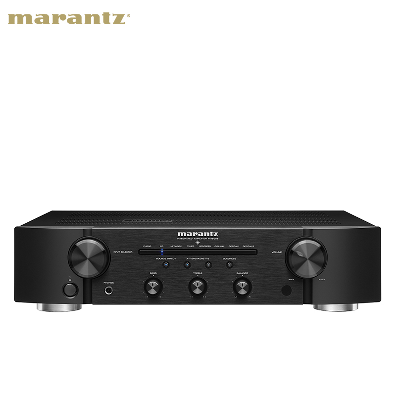Marantz-馬蘭士 PM6006 hifi功放機合并式立體聲專業功放機大功率發燒2.0功放機家用功放機HIFI套裝KEFLS50