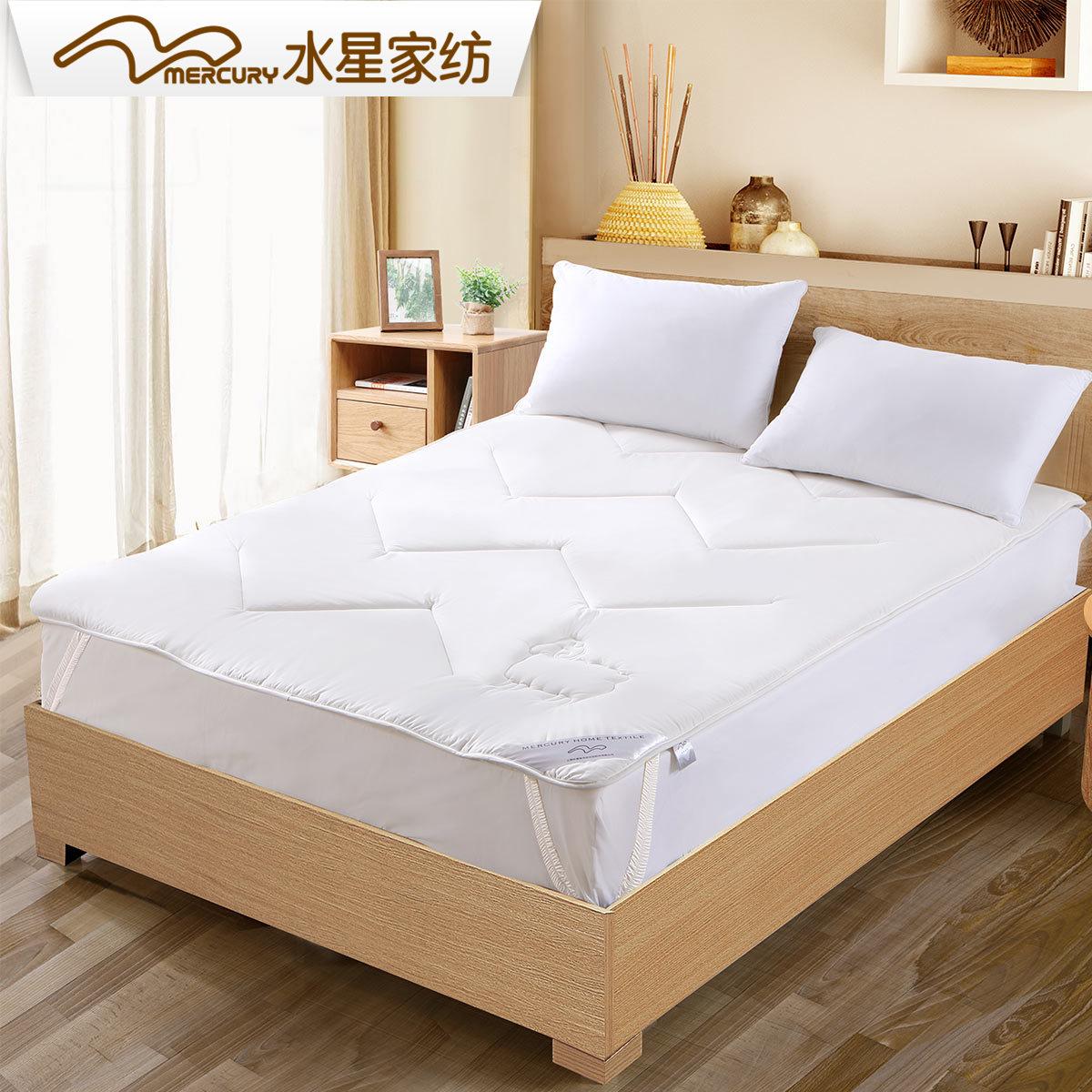 正品家纺垫子床垫羊毛全棉垫双人床水星被1.8m透气a正品折叠软垫