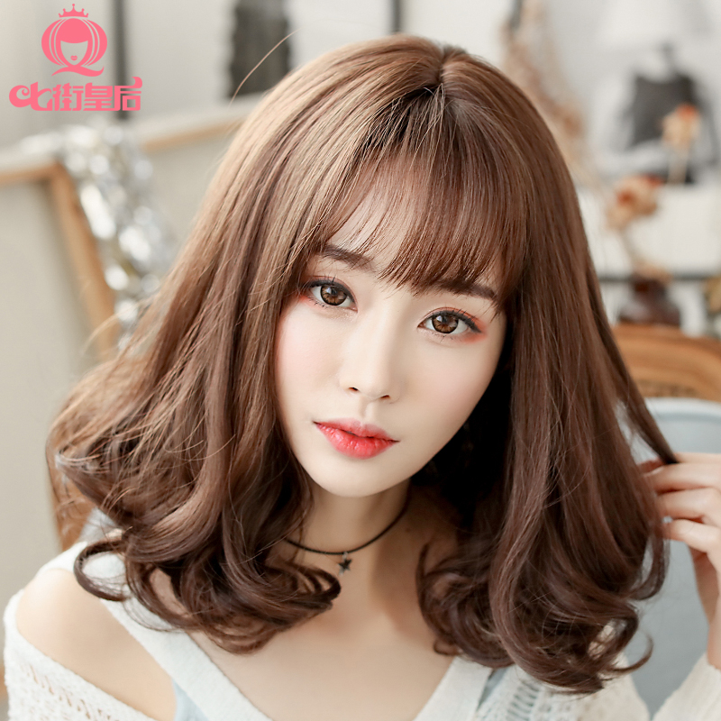 korean style curly hair usd 39 66 south korea wig hair curly 4551